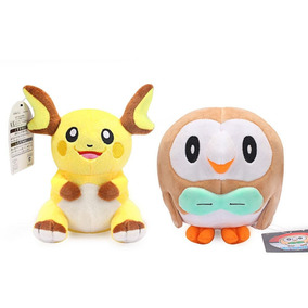 Centro Pokemon Raichu Y Juguete De Peluches De Felpa Ro-0971