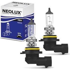 Par Lâmpada Neolux Standard Hb4 9006 3200k 51w Halógena