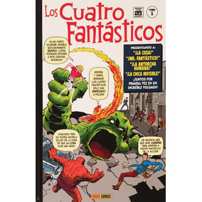 Cuatro 4 Fantásticos 1 Stan Lee Jack Kirby Primera Aparicion