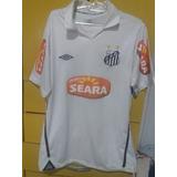 Camisa Antiga Do Santos Fc - Futebol no Mercado Livre Brasil 8e706081a5aed