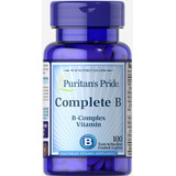 Complejo B Vitaminas 100 Tabletas Traida Usa**