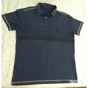 Camisa Polo Side Walk - Côr Azul Marinho Acizentada Tam  G G b5b80889f05ed