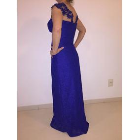 454ac34c1 Vestido Longo Festa Azul Royal Belo Horizonte - Vestidos De Festa ...