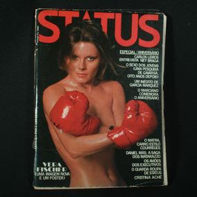 Revista Status Com A Vera Fischer - Julho De 1975