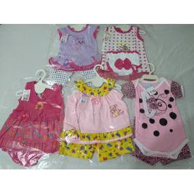 Kit Com 5 Peças De Roupas Para Bebê Feminino E Masculino.