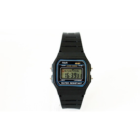 8fc03d043b6 Relógio Digital Aqua Aq 81 Similar Ao Casio A Prova D´agua - Relógio ...