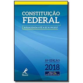 Constituicao Federal - Ed Bolso - Manole