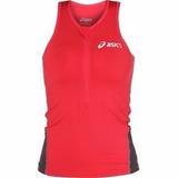 Regata Asics Feminina Compressão Triathlon Corrida Ciclismo 98b73f6fc71f8