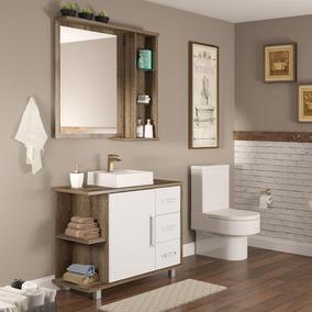 Gabinete 99 Cm Banheiro Acessórios Para Banheiros No