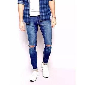 Kit 6 Calças Jeans Adulto Infantil Rasgado Masculina Barato