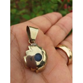 Pingente Cruz Andina Lápis Lazuli Prata 925