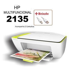 Multifuncional Hp Color Deskjet 2135 Bivolt Impressora