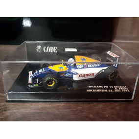 Miniatura F1 Williams Prost 93 Minichamps 1/43 Campeão