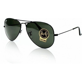 Óculos De Sol + Ray Ban Top + Aviador + Unisex 50%off Tamanh b3db498971