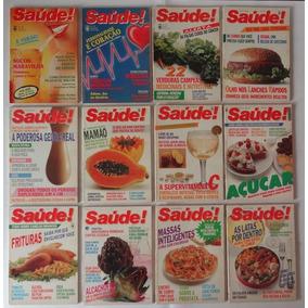 Revistas Antigas Saúde Ano Completo De 1986 - Frete Grátis