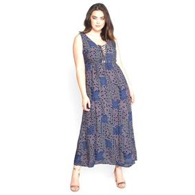 d19a689038e Wet Seal Vestido Maxi Dress Talla Extra 1x Moda Plus Size