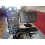 Computador Pc Intel Core Cpu Monitor Accesorios Y Web Cam
