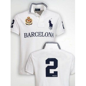Camisa Polo Ralph Lauren Barcelona Big Pony Original Adulto 32abe5a1748