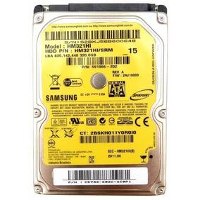 Hd Notebook 320gb Samsung Modelo Hm321hl Funcionand