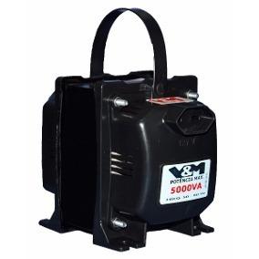 Transformador 5000va 110v 220v Ar Condicionado Até 12000 Btu