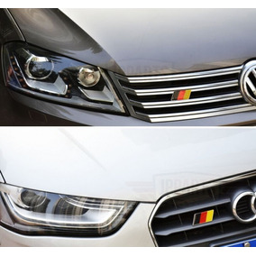 Acessorios Audi A3 S3 Q3 A4 A5 A6 A7 Emblema Grade Alemanha