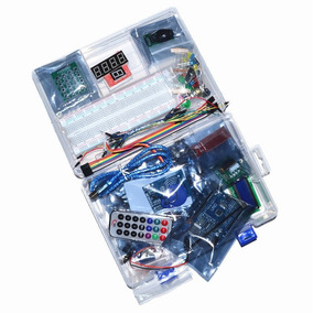 Kit Arduíno Starter Automação C/ Uno R3 Smd + Estojo