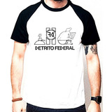 Camiseta Detrito Federal - Punk Rock - Fgbr