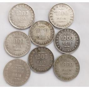Moedas De Prata Valor Unitário 1000 Réis