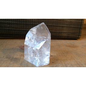 Prisma De Cuarzo Piedra Facetada Pulida