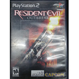 Resident Evil Outbreak Playstation 2 Usado Con Envío Gartis
