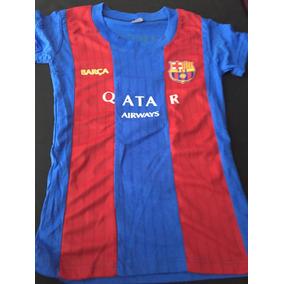 Playera Jersey Blusa Barcelona Messi Mujer 2017 Sexy España d555d22bd79