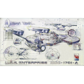 Star Trek Enterprise Schematics Uss1701 A E D No Estado Amt