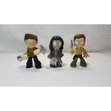 Funko The Walking Dead Lote De 3 Mini Figuras