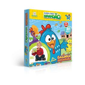 Quebra Cabeça Grandao 20 Pc Galinha Pintadinha 2016 Toyster