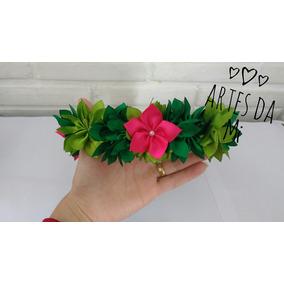 Tiara Flores Moana - Tiaras em Paraná no Mercado Livre Brasil c1e5d2fb289
