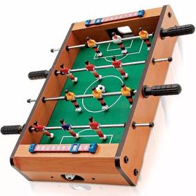Mini Mesa Pebolim Totó Futebol Brinquedo Infantil -