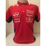 Camisa Camiseta Polo Formula 1 F1 Red Bull Corrida Vermelha 961754e7baf