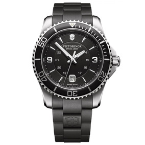 Relógio Masculino Maverick Large Preto Victorinox Swiss Army