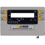 Teclado Indicador De Pesagem 3101c Alfa Instrumentos