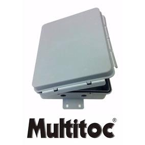 Caixa Hermética Media Multitoc Polipropileno C/ Proteção Uv