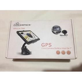 Gps Powerpack Ca-7368 7polegadas + Câmera De Ré E Suporte
