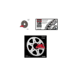 Bikemaster 530 Bmor Sealed Chain Natural, Jt Front