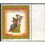 1213 México Personajes Prehispanicos 3 Sellos Mint N H 1980