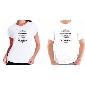 57fa1a56ed Kit Camiseta Camisa Casal Escolhido Melhor Marido Do Mundo