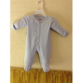 Mameluco Marca Baby Creysi Original Talla 00 Verde Afelpado b3879ac41525