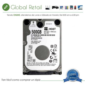Disco Duro Hitachi Para Laptop 500gb Sata 3 5400rpm 16mg 7mm
