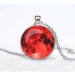 Collar De Luna Llena 3d 8 Colores Mayoreo