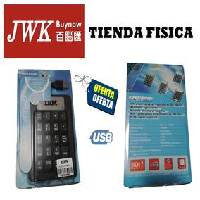 Teclado Usb Numerico Jwk Vision