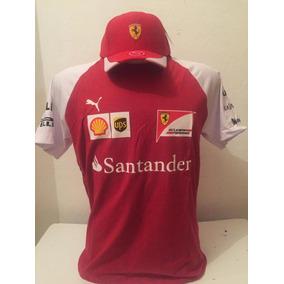 ce7bdeeacd Kit Camiseta Gola Cereca + Bone Ferrari Vermelho Barato. R  100