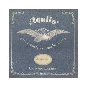 Cordas Violão Aquila Alabastro Itália Superior Tension 20c